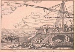 Pérolas Esparsas - Salvamento providencial no mar