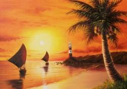 Meditação de pôr do sol - Esperança através da ajuda de Cristo