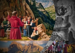 A fuga do fiel remanescente para lugares isolados nos séculos II e III