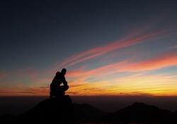Meditação de por do sol - A guarda do sábado depois da cruz