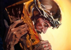 A cruz do calvário